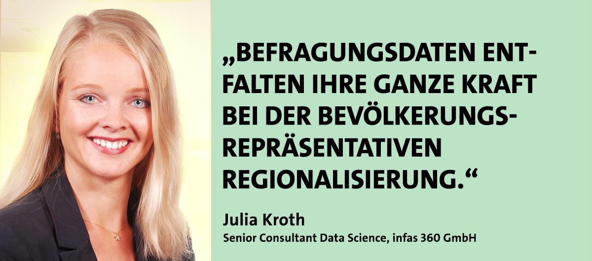 Julia Kroth, Referent bei den Kompetenztagen Geomarketing 2021