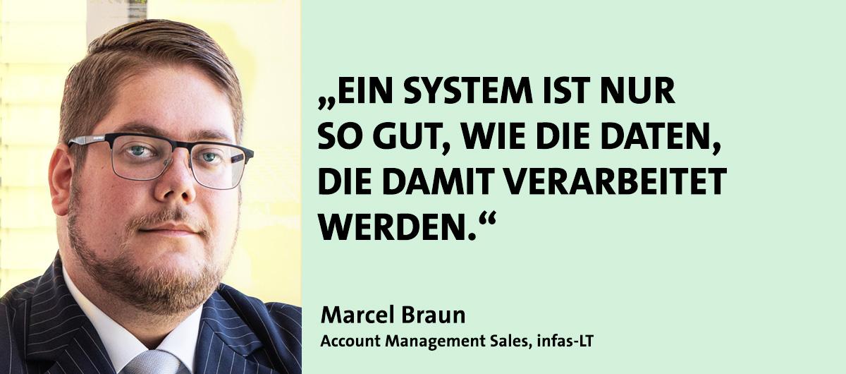 Marcel Braun, Referent bei den Kompetenztagen Geomarketing 2021